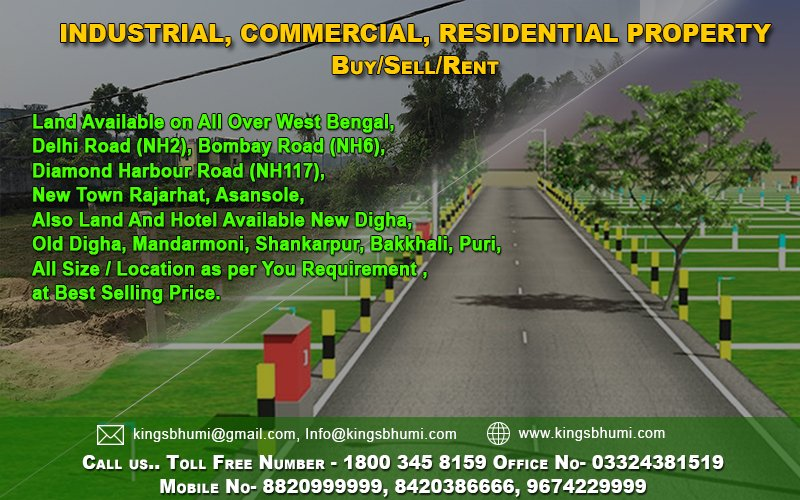 Land available in West Bengal
